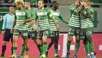 Labdarúgás: A Ferencváros nyerte az örökrangadót - illusztráció