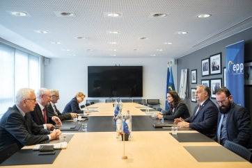 "Evropska narodna partija: Konstruktivan dijalog i dobra atmosfera na susretu Fidesa i ""Saveta mudraca"" - A cikkhez tartozó kép"