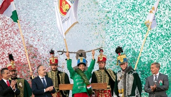 Budimpešta: Predstavnik Temerina pobedio na 12. Nacionalnoj konjičkoj smotri - illusztráció