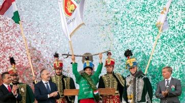 Temerin lovasa nyerte a 12. Nemzeti Vágtát - A cikkhez tartozó kép
