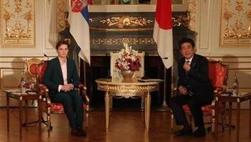 A japán miniszterelnökkel találkozott Ana Brnabić - illusztráció