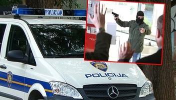 Ismét fegyveres rablás volt Horvátországban - illusztráció