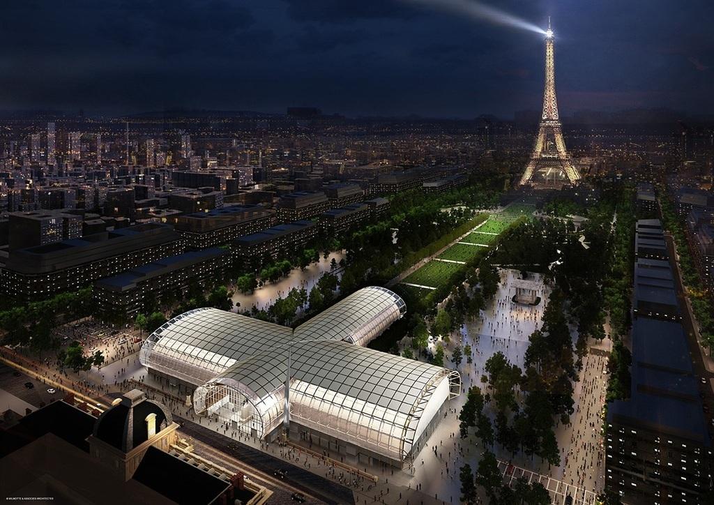 Ideiglenes múzeum épül az Eiffel-torony mellett a Grand ...