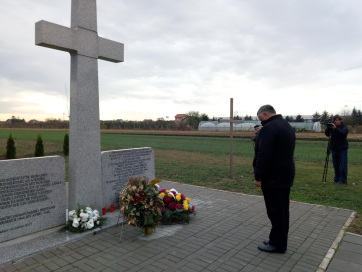 Járekon is megemlékeztek az ártatlan áldozatokról - A cikkhez tartozó kép