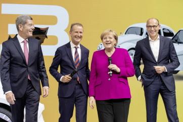 Elkezdődött a Volkswagen első teljesen elektromos autójának sorozatgyártása - A cikkhez tartozó kép