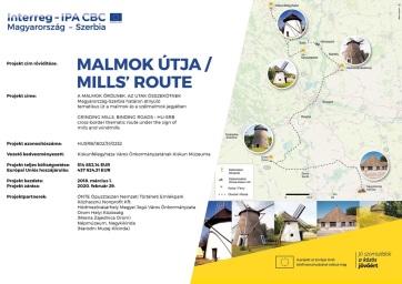 Orom: Lassan befejeződik a Malmok Útja projekt - A cikkhez tartozó kép
