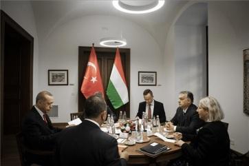 Erdogan Budapesten: A biztonság és a migráció kiemelt téma volt - A cikkhez tartozó kép