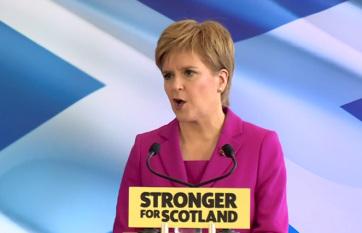 Skót miniszterelnök: Jövőre újabb függetlenségi népszavazást kell tartani - A cikkhez tartozó kép