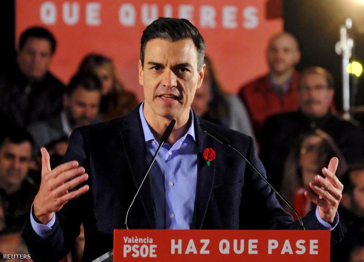 Pedro Sánchez ügyvezető kormányfő