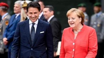 Az európai migrációs probléma szélesebb körű megoldását szorgalmazta Conte és Merkel - illusztráció