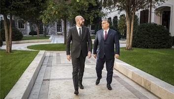 """Orbán Viktor az Európai Tanács új elnökével tárgyalt: """"együttműködésre és a jó válaszok megtalálására törekszünk"""" - illusztráció"""