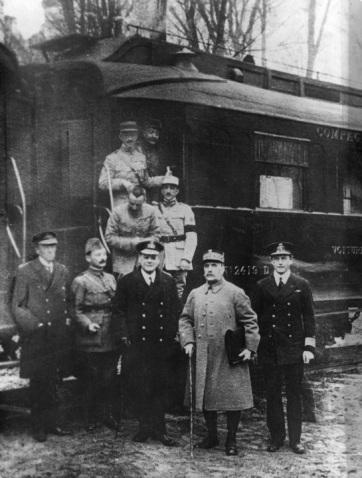 Compiègne-i fegyverszünet - A cikkhez tartozó kép