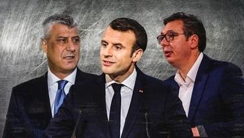 Macron váratlanul külön megbeszélésre hívta Vučićot és Thacit - illusztráció