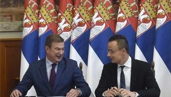 Szijjártó: Soha nem voltak még ilyen erősek a magyar-szerb kapcsolatok - illusztráció