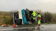Szlovákia: Tucatnyi halálos áldozat egy buszbalesetben Nyitránál - illusztráció