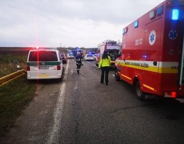 Szlovákia: Tucatnyi halálos áldozat egy buszbalesetben Nyitránál - A cikkhez tartozó kép