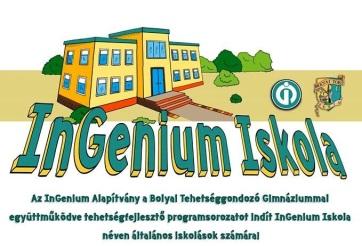 Zenta: Tehetségfejlesztő programot indít az InGenium Alapítvány - A cikkhez tartozó kép