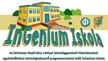 Zenta: Tehetségfejlesztő programot indít az InGenium Alapítvány - illusztráció