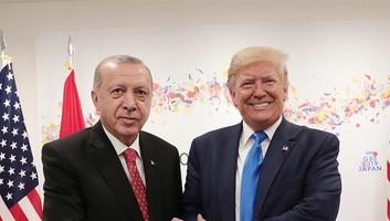 Az amerikai elnök a Fehér Házban fogadta a török államfőt - illusztráció