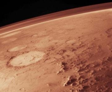 A marsi légkör szezonálisan ingadozó oxigénszintje rejtély a kutatók számára - A cikkhez tartozó kép