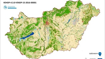 Elkészült Magyarország ökoszisztéma-alaptérképe - illusztráció