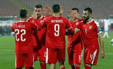 Labdarúgás: Szerbia legyőzte Luxemburgot - A cikkhez tartozó kép