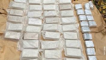 77 kilogramm kokaint és több értékes autót foglaltak le - illusztráció