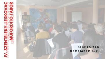 Felhívás a IV. Szenteleky–Leskovac Műfordító Táboron való részvételre - A cikkhez tartozó kép