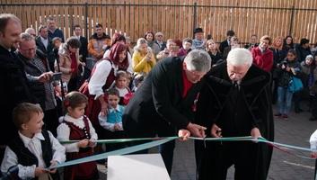 Magyar állami támogatással épült óvodákat adtak át vasárnap Székelyföldön - illusztráció