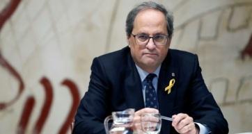 Engedetlenség vádjával bíróság elé állították a katalán elnököt - A cikkhez tartozó kép