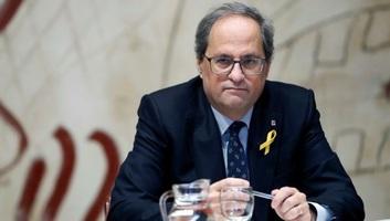 Engedetlenség vádjával bíróság elé állították a katalán elnököt - illusztráció