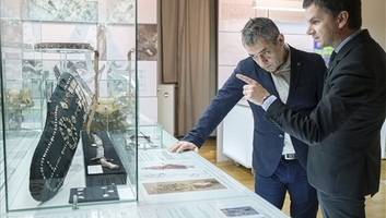Honfoglaláskori magyar sírok leletanyagát bemutató kiállítás nyílt Csíkszeredában - illusztráció