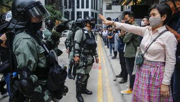 Folytatódnak a hongkongi tüntetések - illusztráció