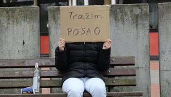 Tíz százalék alá csökkent a szerb munkanélküliség - illusztráció