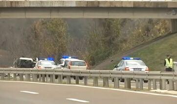 Hárman haltak meg az autópályán történt balesetben Niš közelében - A cikkhez tartozó kép