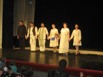 Bemutatót tartott a nagybecskereki színház bábtársulata - A cikkhez tartozó kép