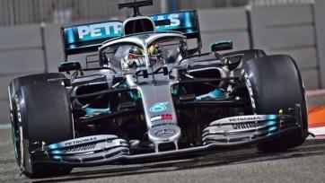 F1: Hamilton nyerte az idény utolsó időmérő edzését - A cikkhez tartozó kép