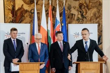Szijjártó: A V4-ek az uniós bővítési folyamat felgyorsítását várják az új Európai Bizottságtól - A cikkhez tartozó kép