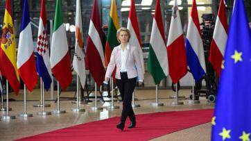 Von der Leyen Várhelyi Olivérnek: Hiteles európai integrációs perspektívát kell kínálni a Nyugat-Balkán számára - A cikkhez tartozó kép