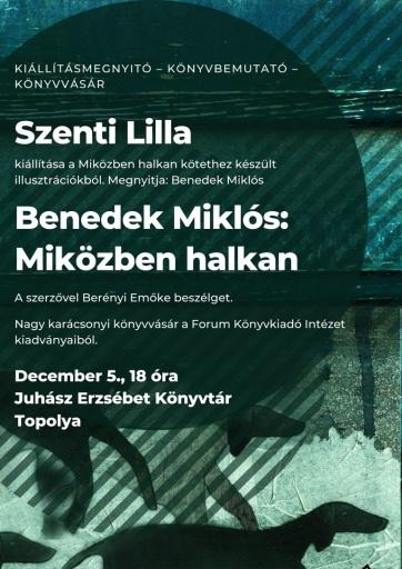 Topolya: Könyvbemutató és kiállításmegnyitó - A cikkhez tartozó kép