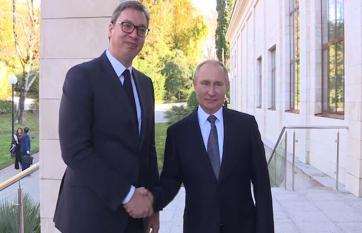 Napi fotó: Aleksandar Vučić szerb elnök...