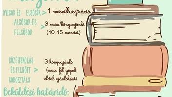 Ada: Mese- és könyvajánló pályázatot hirdet a Szarvas Gábor Könyvtár - illusztráció