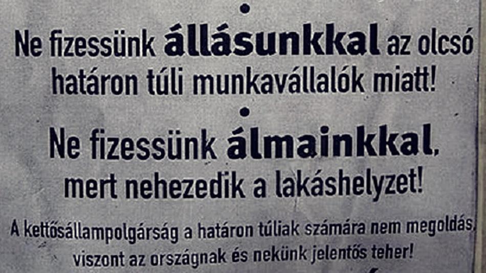 Gyurcsányék 2004. december 5-ei népszavazás előtt velünk, határon kívüliekkel ijesztgették az anyaországiakat