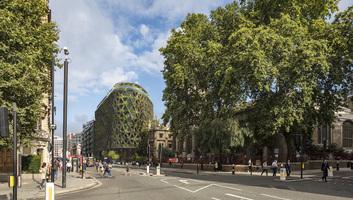 """""""Lélegző"""" szállodát építenek Londonban - illusztráció"""