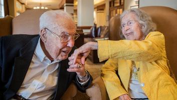 85 éve él együtt a világ legidősebb házaspárja - illusztráció