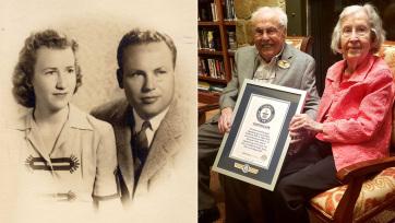 85 éve él együtt a világ legidősebb házaspárja - A cikkhez tartozó kép