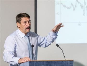 Áder János előadása a környezetvédelemről: Sorsdöntő évek előtt állunk - A cikkhez tartozó kép