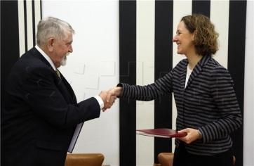 A magyar-horvát kulturális kapcsolatok szorosabbra fűzéséről tárgyalt Kásler Miklós Zágrábban - A cikkhez tartozó kép