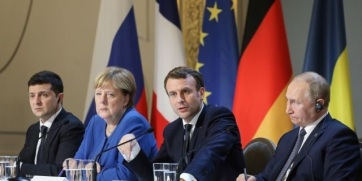 """A """"normandiai négyek"""" négy hónap múlva újabb csúcstalálkozót tartanak - A cikkhez tartozó kép"""