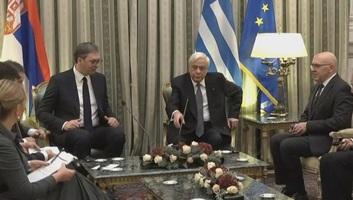 Vučić Görögországban tárgyalt - illusztráció